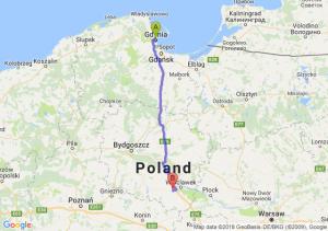Gdynia - Brześć Kujawski