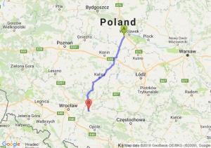 Trasa Brześć Kujawski - Namysłów