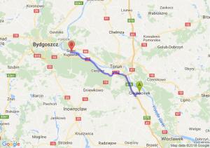 Trasa Ciechocinek - Solec Kujawski