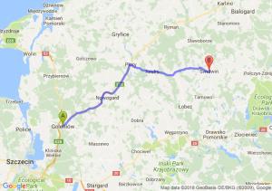 Trasa Goleniów - Świdwin
