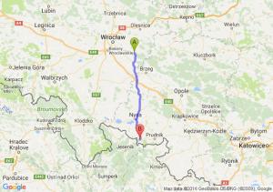 Jelcz-Laskowice (dolnośląskie) - Głuchołazy (opolskie)
