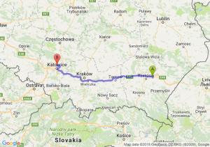 Trasa Łańcut - Siemianowice Śląskie