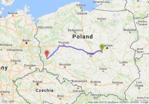 Trasa Mszczonów - Żagań