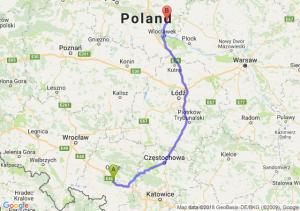 Trasa Dąbrówka Górna - Lipno