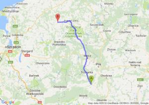 Trasa Czarnków - Świdwin
