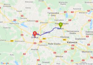 Trasa Bytom - Gliwice
