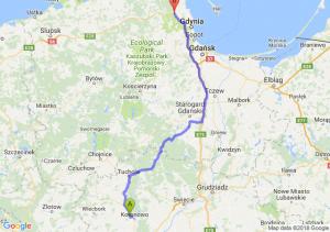 Trasa Koronowo - Reda