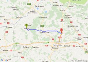 Trasa Mielec - Sokołów Małopolski