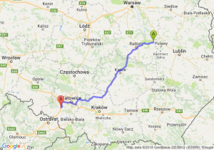 Trasa Bąkowiec - Czerwionka-Leszczyny
