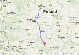 Trasa Białe Błota - Kluczbork
