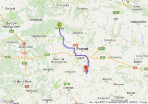 Wronki (wielkopolskie) - Śrem (wielkopolskie)