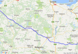 Lidzbark (warmińsko-mazurskie) - Koszalin (zachodniopomorskie)