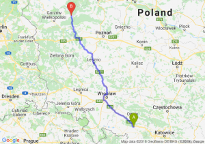 Trasa Krapkowice - Drezdenko