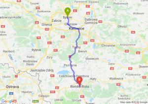 Trasa Bytom - Bielsko-Biała