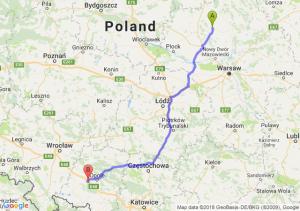 Trasa Ciechanów - Prądy