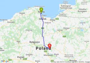 Trasa Gdynia - Lipno