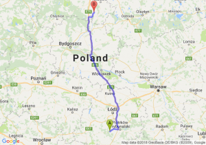Trasa Bełchatów - Gniew
