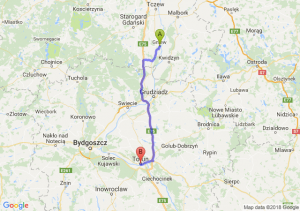 Trasa Gniew - Toruń