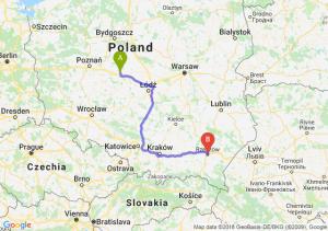 Trasa Konin - Rzeszów