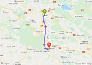 Trasa Opole - Krapkowice