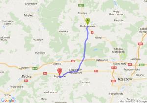 Trasa Kolbuszowa - Ropczyce