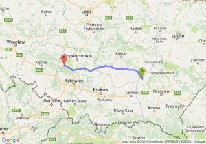 Trasa Borowa - Lubliniec