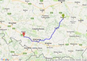 Trasa Radom - Krapkowice
