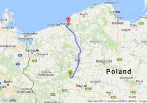 Wronki (wielkopolskie) - Sianów (zachodniopomorskie)
