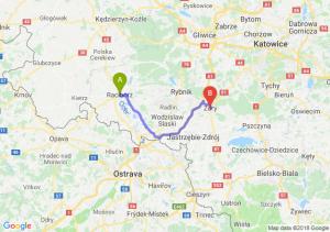 Trasa Racibórz - Żory