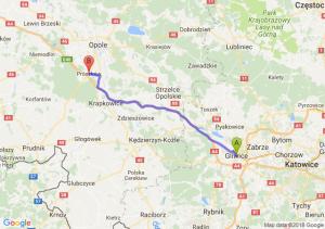Trasa Gliwice - Prószków