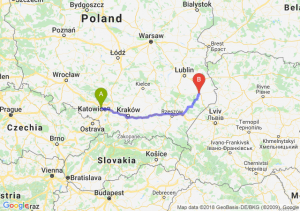 Trasa Gliwice - Zamość