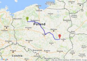 Trasa Piła - Puławy