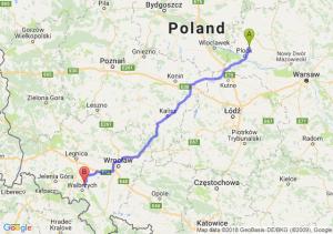 Trasa Bielsk - Świebodzice