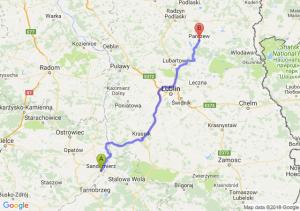 Sandomierz - Parczew