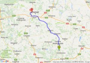 Trasa Antonin - Przyźmierowo