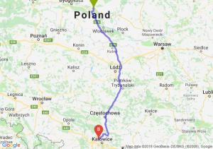 Trasa Lubicz Dolny - Bytom