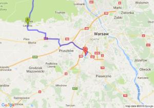 Nowy Dwór Mazowiecki (mazowieckie) - Leszno (mazowieckie) - Raszyn (mazowieckie)