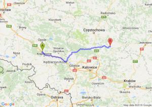 Trasa Dąbrówka Górna - Bobolice