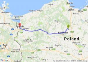 Chełmno (kujawsko-pomorskie) - Szczecin (zachodniopomorskie)