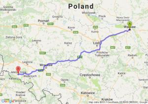 Warszawa - Jelenia Góra