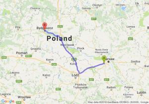 Trasa Pruszków - Bydgoszcz