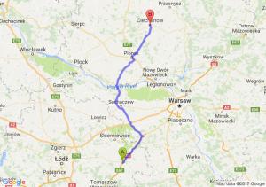 Trasa Rawa Mazowiecka - Ciechanów