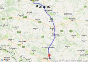 Trasa Białe Błota - Dąbrowa Górnicza