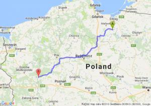 Dzierzgoń (pomorskie) - Międzychód (wielkopolskie)
