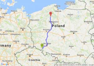 Trasa Wałbrzych - Chojnice