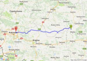 Trasa Borowa - Będzin