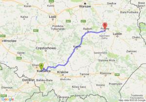Trasa Mikołów - Puławy