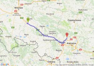 Trasa Przylesie - Tarnowskie Góry