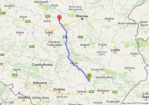 Trasa Borowa - Łowicz