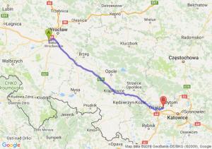 Trasa Biskupice Podgórne - Zabrze
